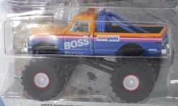 Modellauto - <strong>Chevrolet</strong> K-10 Monster Truck, AM/PM Boss, 1972<br /><br />Greenlight, 1:64<br />Nr. 237000