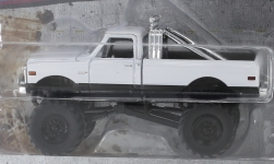 Modellauto - <strong>Chevrolet</strong> K-10 Monster Truck, weiss, 1972<br /><br />Greenlight, 1:64<br />Nr. 237001