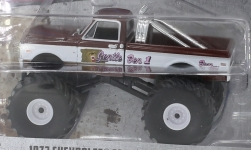 Modellauto - <strong>Chevrolet</strong> C20 Monster Truck, Gentle Ben 1, 1972<br /><br />Greenlight, 1:64<br />Nr. 237004