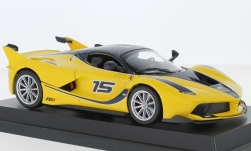 Modelcar - <strong>Ferrari</strong> FXX-K, yellow/black, 2015<br /><br />Bburago, 1:24<br />No. 237034