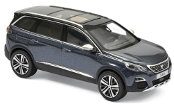 Modellauto - <strong>Peugeot</strong> 5008 GT, metallic-dunkelblau, 2016<br /><br />Norev, 1:43<br />Nr. 237045