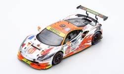 ModelCar - <strong>Ferrari</strong> 488 GTE, No.61, Clearwater Racing, 24h Le Mans, M.Griffin/W.S.Mok/K.Sawa, 2018<br /><br />Look Smart, 1:18<br />No. 237147