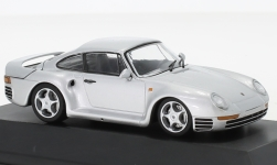 Modellauto - <strong>Porsche</strong> 959, zilver, Porsche 911 Collection, 1986<br /><br />SpecialC.-111, 1:43<br />Nr. 237199