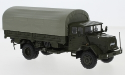Modelcar - <strong>MAN</strong> 630, olive greeen, German Armed Forces, PP-truck<br /><br />Premium ClassiXXs, 1:43<br />No. 237243