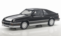 Modellauto - <strong>Dodge</strong> Shelby Charger Turbo, schwarz/silber, 1985<br /><br />Lucky Step Models, 1:18<br />Nr. 237447
