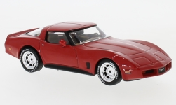 Modellauto - <strong>Chevrolet</strong> Corvette C3, rood, 1980<br /><br />IXO, 1:43<br />Nr. 237492
