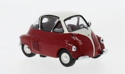 Modelcar - <strong>ISO</strong> Isetta, red/white, 1955<br /><br />IXO, 1:43<br />No. 237499