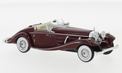 Modellauto - <strong>Mercedes</strong> 540K Spezial Roadster (W29), dunkelrot, 1936<br /><br />IXO, 1:43<br />Nr. 237503