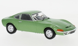 Modelcar - <strong>Opel</strong> GT, metallic-green, 1969<br /><br />IXO, 1:43<br />No. 237505