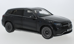 Modelcar - <strong>Mercedes</strong> EQC (N293) 400 4Matic metallic-grey, with Beleuchtung, 2019<br /><br />I-NZG, 1:18<br />No. 237980
