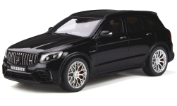 Modellauto - <strong>Mercedes</strong> Brabus 600, schwarz, Basis: AMG GLC 63S, 2018<br /><br />GT Spirit, 1:18<br />Nr. 238018