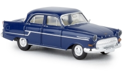 Modelcar - <strong>Opel</strong> captain, dark blue, TD, 1956<br /><br />Brekina, 1:87<br />No. 238290