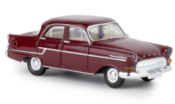 Modelcar - <strong>Opel</strong> captain, dark red, TD, 1956<br /><br />Brekina, 1:87<br />No. 238292