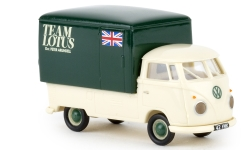 Modelcar - <strong>VW</strong> T1b Großraum-box-wagon, team Lotus, 1960<br /><br />Brekina, 1:87<br />No. 238302