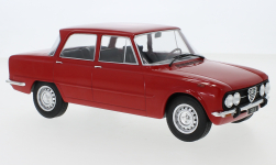 voiture miniature - <strong>Alfa Romeo</strong> Giulia Nuova Super, rouge, 1974<br /><br />MCG, 1:18<br />N° 238344