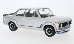 Modellauto - <strong>BMW</strong> 2002 Turbo, zilver, 1973<br /><br />MCG, 1:18<br />Nr. 238349