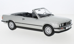 Modellino - <strong>BMW</strong> 320i (E30) Cabriolet, argento, 1985<br /><br />MCG, 1:18<br />n. 238353