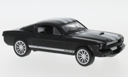 Modellauto - <strong>Shelby</strong> Mustang GT350, schwarz/silber, 1965<br /><br />Shelby Collectibles, 1:43<br />Nr. 238476