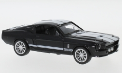Modellauto - <strong>Shelby</strong> Mustang GT500, schwarz/weiss, 1967<br /><br />Shelby Collectibles, 1:43<br />Nr. 238480
