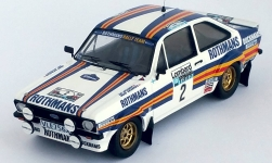 Modelcar - <strong>Ford</strong> Escort MK II RS, No.2, Rothmans Rally team, Rothmans, Rallye WM, RAC Rallye, A.Vatanen/D.Richards, 1981<br /><br />Trofeu, 1:43<br />No. 238489