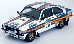 Modelcar - <strong>Ford</strong> Escort MK II RS, RHD, No.18, Rothmans Rally team, Rothmans, Rallye WM, RAC Rallye, M.Wilson/T.Harryman, 1981<br /><br />Trofeu, 1:43<br />No. 238491