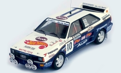 Modelcar - <strong>Audi</strong> quattro, No.10, Mattel - Hot Wheels, National Breakdown Rally, J.Bosch/G.Hodgson, 1987<br /><br />Trofeu, 1:43<br />No. 238492