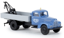 Modelcar - <strong>Ford</strong> FK 3500 towing automobile, Ford Werke, 1951<br /><br />Brekina, 1:87<br />No. 238511