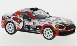 ModelCar - <strong>Fiat</strong> Abarth 124 RGT, No.10, Bernini Rally, MCF Safety Belts, Rallye San Remo, E.Brazzolli/M.Fenoli, 2019<br /><br />IXO, 1:43<br />No. 238543