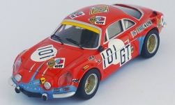 Modelcar - <strong>Alpine Renault</strong> A110, No.101, German Renault Automobile, 1000 Km Nuerburgring, H.Schulze-Schwering/T.Betzler, 1971<br /><br />Trofeu, 1:43<br />No. 238609
