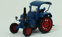 Modellauto - <strong>Lanz</strong> Bulldog D7506A Allzweck, blauw, zonder Vitrine, 1952<br /><br />SpecialC.-114, 1:43<br />Nr. 238618