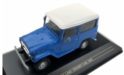 Modellino - <strong>Toyota</strong> Land cruiser FJ 40, blu, 1973<br /><br />First 43 Models, 1:43<br />n. 238698
