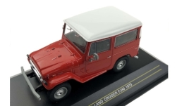 Modellauto - <strong>Toyota</strong> Land Kruiser FJ 40, rood/wit, 1973<br /><br />First 43 Models, 1:43<br />Nr. 238700