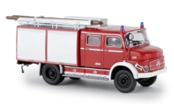 Modelcar - <strong>Mercedes</strong> LAF 1113 TLF 16, red/white, with Rollläden, TD, 1972<br /><br />Brekina, 1:87<br />No. 238719
