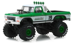 ModelCar - <strong>Ford</strong> F-250 Monster Truck, grün/weiss, 1974<br /><br />Greenlight, 1:43<br />No. 238763