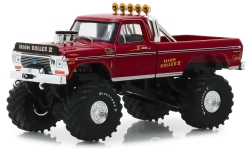 ModelCar - <strong>Ford</strong> F-250 Monster Truck, High Roller II, 1979<br /><br />Greenlight, 1:43<br />No. 238764