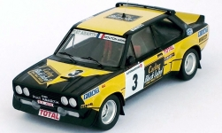Modelcar - <strong>Fiat</strong> 131 Abarth, No.3, Carling Black Label, Boucles de Spa, M.Mouton/A.Arrii, 1980<br /><br />Trofeu, 1:43<br />No. 238975