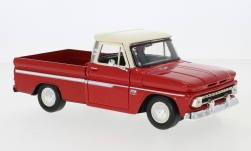 автомодель - <strong>Chevrolet</strong> C10 Fleetside Pick Up, rot/hellbeige, 1966<br /><br />Motormax, 1:24<br />№ 239077