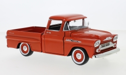 автомодель - <strong>Chevrolet</strong> Apache Fleetside Pick Up, dunkelorange, 1958<br /><br />Motormax, 1:24<br />№ 239080
