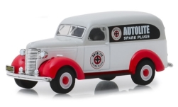 Modelcar - <strong>Chevrolet</strong> grey/white, Autolite, 1939<br /><br />Greenlight, 1:64<br />No. 239138