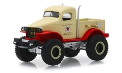 Modellauto - <strong>Military</strong>  1/2 Ton geel/rood, Texaco, 4x4, 1941<br /><br />Greenlight, 1:64<br />Nr. 239139