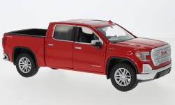 Modelcar - <strong>GMC</strong>  Sierra 1500 SLT Crew Cab, red, scale ca. 1:27, 2019<br /><br />Motormax, 1:24<br />No. 239213