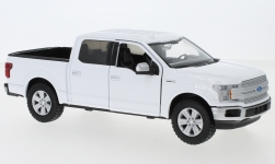 ModelCar - <strong>Ford</strong> Ford F-150 Lariat Crew Cab, weiss, Maßstab ca. 1:27, 2019<br /><br />Motormax, 1:24<br />No. 239218