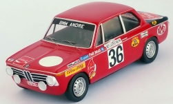 Modelcar - <strong>BMW</strong> 2002 ti, No.36, Rally Ypres, Pedro/Jimmy, 1971<br /><br />Trofeu, 1:43<br />No. 239323