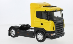 Modelcar - <strong>Scania</strong> R470, yellow<br /><br />Welly, 1:32<br />No. 239379