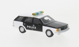 Modellauto - <strong>Renault</strong> 18 Break, weiss/schwarz,  Police, 1978<br /><br />BoS-Models, 1:87<br />Nr. 239381