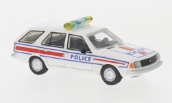 Modellauto - <strong>Renault</strong> 18 Break, wit/Decor,  Police, 1978<br /><br />BoS-Models, 1:87<br />Nr. 239382