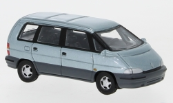 Modellauto - <strong>Renault</strong> Espace II, metallic-hellblau, 1991<br /><br />BoS-Models, 1:87<br />Nr. 239384