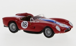 voiture miniature - <strong>Ferrari</strong> 250 TR, No.18, 24h Le Mans, D.Gurney/B.Kessier, 1958<br /><br />BoS-Models, 1:87<br />N° 239386