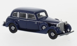 Modellauto - <strong>Mercedes</strong> 770 (W150) Limousine, blau, 1940<br /><br />BoS-Models, 1:87<br />Nr. 239392