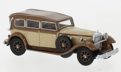 Modelcar - <strong>Mercedes</strong> 770 (W07) Closed Convertible, beige/dunkelbraun, RHD, 1930<br /><br />BoS-Models, 1:87<br />No. 239394